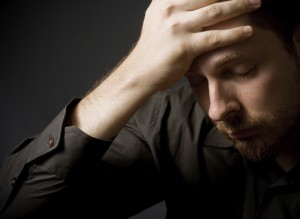 Depressed man | find help at Colorado Counseling Center