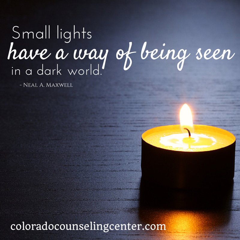 Quotes Light Amusing Inspirational Quotes  Colorado Counseling Center