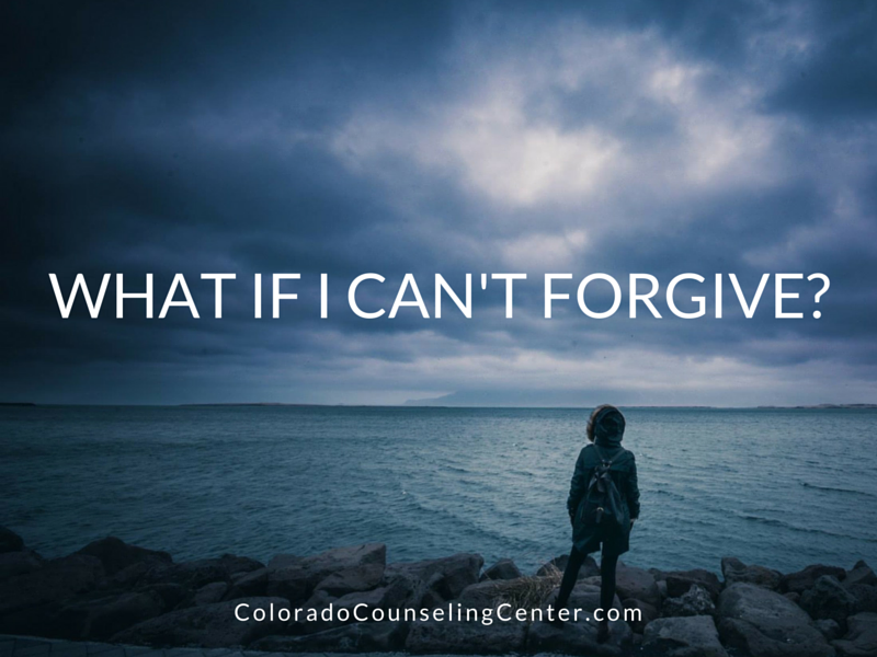 What if I Can't Forgive-